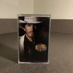 Vintage George Strait Cassette Tap